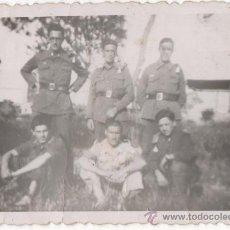 Militaria: FOTOGRAFIA ANTIGUA DE SOLDADOS ESPAÑOLES, EPOCA DE LA GUERRA CIVIL? - 5ª. Lote 48623537