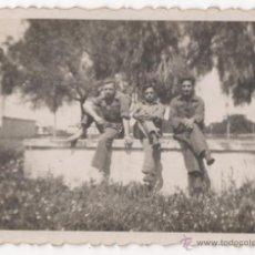 Militaria: FOTOGRAFIA ANTIGUA DE SOLDADOS ESPAÑOLES, EPOCA DE LA GUERRA CIVIL? - 7ª. Lote 48623702