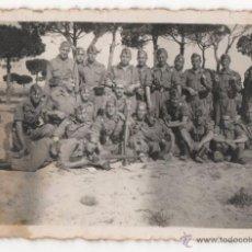 Militaria: FOTOGRAFIA ANTIGUA DE SOLDADOS ESPAÑOLES, EPOCA DE LA GUERRA CIVIL? - 8ª. Lote 48623715