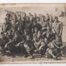 Militaria: FOTOGRAFIA ANTIGUA DE SOLDADOS ESPAÑOLES, EPOCA DE LA GUERRA CIVIL? - 10ª. Lote 48623893