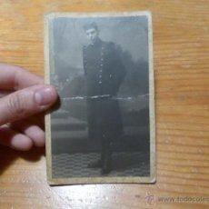 Militaria: ANTIGUA FOTOGRAFIA DE MILITAR ESPAÑOL, EN ZARAGOZA 1925. Lote 48680753