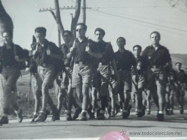 Militaria: Antigua fotografia de frente juventudes, OJE, frente juventudes, boy scouts - Foto 2 - 48692445