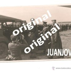Militaria: HITLER Y VON MANSTEIN EN EL CUARTEL GENERAL DE SAPOROSHJE EN EL AÑO 1943. Lote 48712714