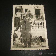 Militaria: LERIDA LLEIDA GUERRA CIVIL SOLDADOS LEGION CONDOR FOTOGRAFIA. Lote 48740361