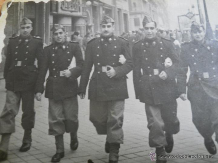 FOTOGRAFÍA PONTONEROS INGENIEROS DEL EJÉRCITO ESPAÑOL. MADRID 1947 (Militar - Fotografía Militar - Otros)