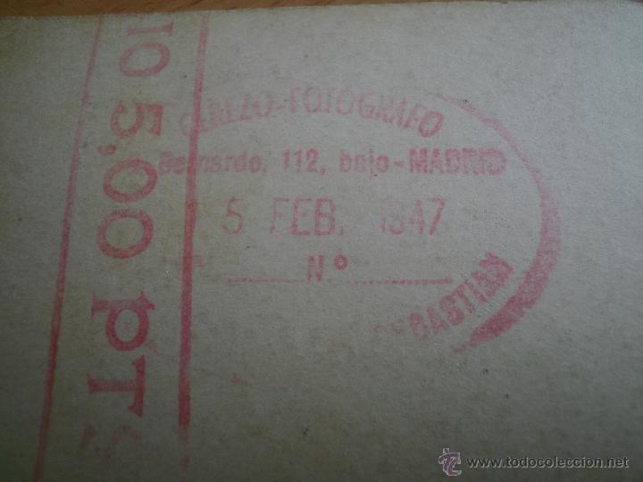 Militaria: Fotografía pontoneros ingenieros del ejército español. Madrid 1947 - Foto 5 - 49163104