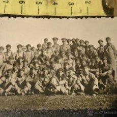 Militaria: CADIZ ALBUNICA - FOTOGRAFIA MILITAR . BATALLON, RECLUTAS , MILITARES, ESCUADRON..... Lote 49310862