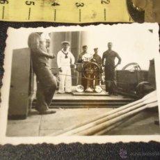 Militaria: CADIZ ALBUNICA - FOTOGRAFIA MILITAR . MILITARES BARCO O BUQUE DE GUERRA. Lote 49311040