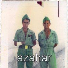 Militaria: PRECIOSA FOTOGRAFIA COLOREADA DE DOS LEGIONARIOS,60X84MM. Lote 49388877