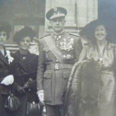 Militaria: FOTO TENIENTE CORONEL VETERANO GUERRA CIVIL; VIEJA GUARDIA FALANGE, ETC . MADRID, 1950.. Lote 49474797