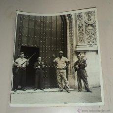 Militaria: REVOLUCIÓN CUBANA,TREMENDA FOTO ORIGINAL,CUBA,FIDEL CASTRO,CHÉ GUEVARA,26 DE JULIO,. Lote 49498739