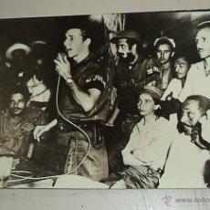 Militaria: REVOLUCIÓN CUBANA,TREMENDA FOTO ORIGINAL,CUBA,FIDEL CASTRO,CHÉ GUEVARA,26 DE JULIO,RAÚL CASTRO. Lote 215120981