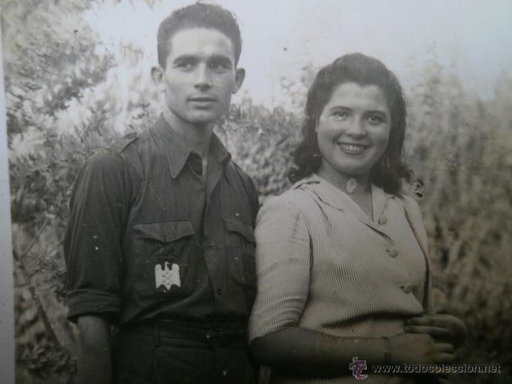 FOTOGRAFÍA ESTUDIANTE FALANGISTA. SEU 1943 (Militar - Fotografía Militar - Otros)