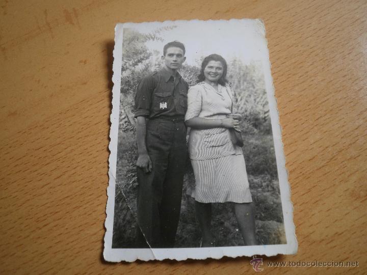 Militaria: Fotografía estudiante falangista. SEU 1943 - Foto 2 - 49508036
