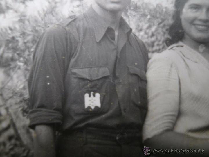 Militaria: Fotografía estudiante falangista. SEU 1943 - Foto 3 - 49508036