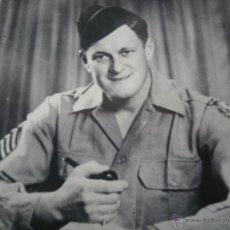 Militaria: FOTOGRAFÍA SARGENTO DEL EJÉRCITO NORTEAMERICANO. 2º GM US ARMY JULY 1945. Lote 49525321