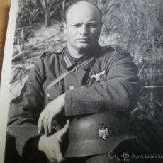 Militaria: FOTOGRAFÍA SOLDADO DEL EJÉRCITO ALEMÁN. WEHRMACHT. Lote 49575071