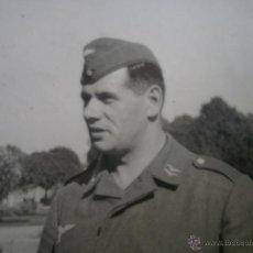 Militaria: FOTOGRAFÍA CABO LUFTWAFFE. PASADOR LEGIÓN CONDOR 1941. Lote 49577997