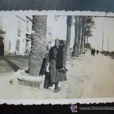 Militaria: GUERRA CIVIL : SOLDADO ITALIANO DEL CTV , SARGENTO PICOTTI . 1939 ..... 6 X 9 CM. Lote 49583455