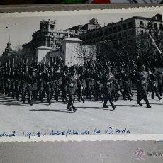 Militaria: FOTOGRAFIA DE MADRID DESFILE DE LA VICTORIA. Lote 49847994