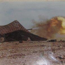 Militaria: FOTOGRAFIA 1986 MANIOBRAS EN ALMERIA -- RAMIX 32 DE MELILLA -- 27 X 21 CM. Lote 49854348