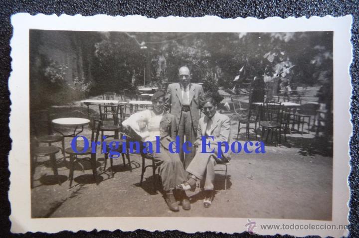 (JX-2509)FOTOGRAFIA DE D.LUIS URRA,SOLDADO DE LA DIVISION AZUL,CONVALECIENTE DE HERIDA FRENTE RUSO (Militar - Fotografía Militar - II Guerra Mundial)