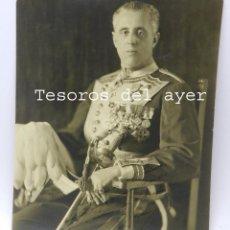 Militaria: FOTOGRAFIA DEL EMBAJADOR ESPAÑOL EN QUITO, AÑO 1931, CON DEDICATORIA Y FIRMA MANUSCRITA, GRAN TAMAÑO. Lote 49991591