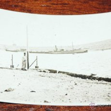 Militaria: FOTOGRAFIA BASE DE HIDROAVIONES DEL ATALAYON (MELILLA), 1932, AVIACION, AVION, MIDE 11,4 X 7 CMS. PR. Lote 50076832