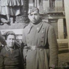 Militaria: FOTOGRAFÍA SOLDADO CABALLERÍA DEL EJÉRCITO ESPAÑOL. BARCELONA 1941. Lote 50087844