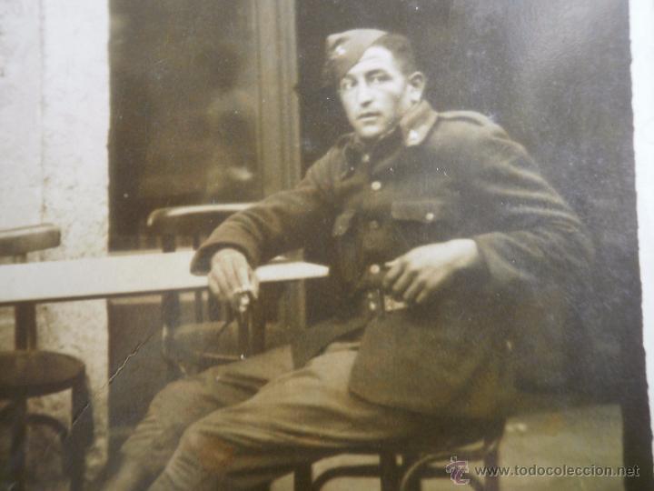FOTOGRAFÍA SOLDADO ARTILLERÍA DEL EJÉRCITO NACIONAL. GUERRA CIVIL (Militar - Fotografía Militar - Guerra Civil Española)