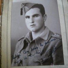 Militaria: FOTOGRAFÍA LEGIONARIO. MELILLA TAUIMA 1941. Lote 50102318