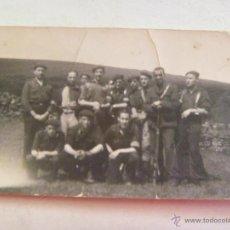 Militaria: GUERRA CIVIL : MILICIANOS FALANGE : BANDERA DE CHOQUE , 3ª BANDERA .. SANTANDER , 1940. Lote 50121775