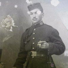 Militaria: FOTOGRAFÍA SOLDADO INTENDENCIA DEL EJÉRCITO ESPAÑOL.. Lote 50169836
