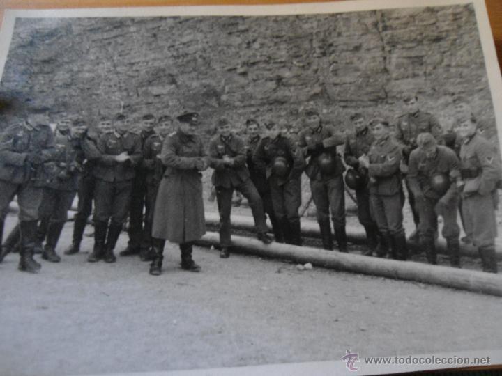 Militaria: LOTE FOTOGRAFIAS ANTIGUAS SOLDADOS ALEMANES - SEGUNDA GUERRA MUNDIAL - Foto 4 - 50215486