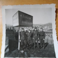 Militaria: ANTIGUA FOTOGRAFIA SOLDADOS ALEMANES EN ITALIA - SEGUNDA GUERRA MUNDIAL. Lote 50217708
