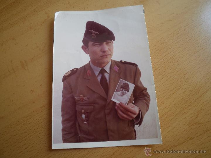 Militaria: Fotografía paracaidista Brigada Paracaidista. BRIPAC 1970 - Foto 2 - 50229114