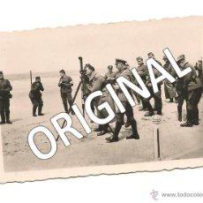 Militaria: RUDOLF HESS Y EL GENERAL VON KUCHLER EN PRUEBAS MILITARES. Lote 50267332