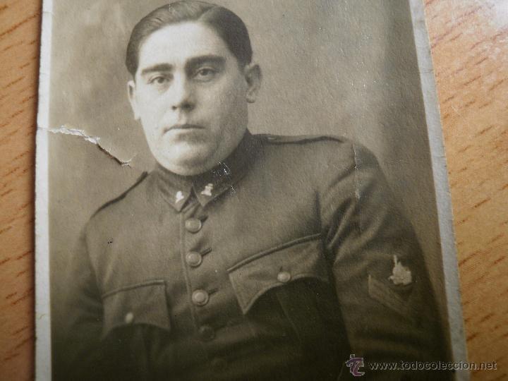 FOTOGRAFÍA SOLDADO FERROVIARIO DEL EJÉRCITO ESPAÑOL. FERROCARRILES PRÁCTICOS Y MOVILIZACIÓN (Militar - Fotografía Militar - Otros)