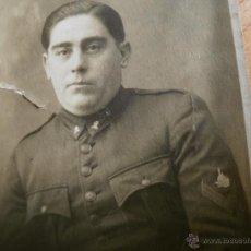 Militaria: FOTOGRAFÍA SOLDADO FERROVIARIO DEL EJÉRCITO ESPAÑOL. FERROCARRILES PRÁCTICOS Y MOVILIZACIÓN. Lote 50368274