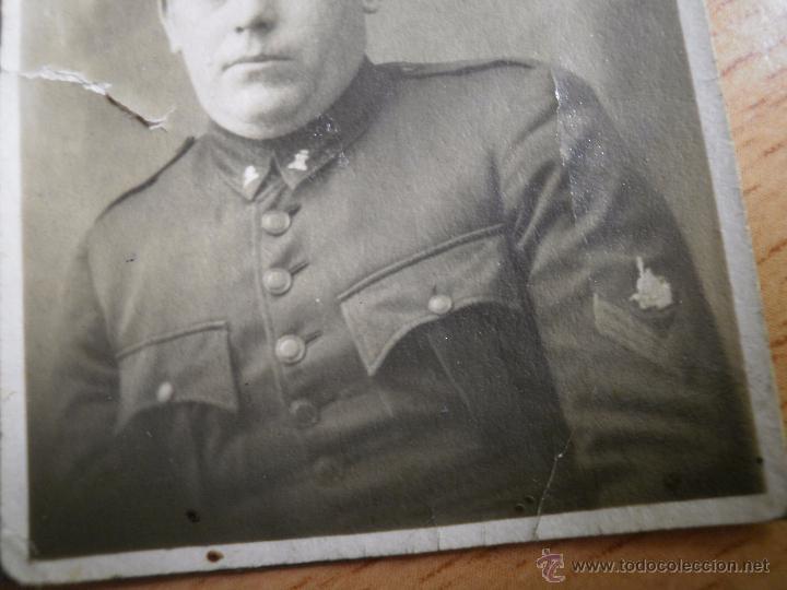 Militaria: Fotografía soldado ferroviario del ejército español. Ferrocarriles prácticos y movilización - Foto 4 - 50368274
