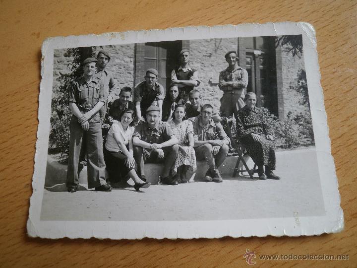 Militaria: Fotografía Requetes. Guerra Civil - Foto 2 - 50440779