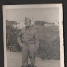 Militaria: FOTOGRAFIA MILITAR SOLDADO FOTO GUERRERO CEUTA. Lote 50440910