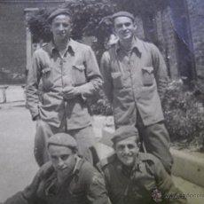 Militaria: FOTOGRAFÍA REQUETES. GUERRA CIVIL VITORIA. Lote 50456218