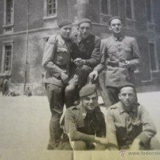 Militaria: FOTOGRAFÍA REQUETES. GUERRA CIVIL VITORIA. Lote 50459945