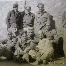 Militaria: FOTOGRAFÍA SARGENTOS DEL EJÉRCITO NACIONAL. GUERRA CIVIL. Lote 50460000