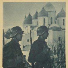 Militaria: FOTOGRAFÍA-POSTAL DIVISIÓN AZUL . Lote 50467533