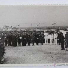 Militaria: F-764. ACTO CASTRENSE EN EL CAMPAMENTO DE FALANGE FRANCO. TARRAGONA . Lote 50546497