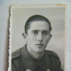 Militaria: GUERRA CIVIL : FOTO DE CARNET DE SOLDADO DE SANIDAD MILITAR . MELILLA, 1937. Lote 50699723