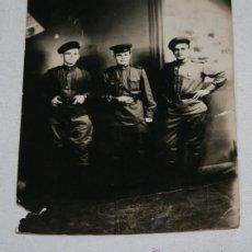 Militaria: OFICIAL Y SUBOFICIALES RUSOS, I GUERRA MUNDIAL WWI, FOTOGRAFIA ORIGINAL - 3ªU. Lote 50737367