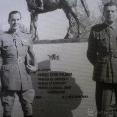 Militaria: FOTOGRAFÍA ESCUELA DE EQUITACIÓN DEL EJÉRCITO ESPAÑOL. JINETE PERICO DOMÍNGUEZ MANJÓN. Lote 50761881